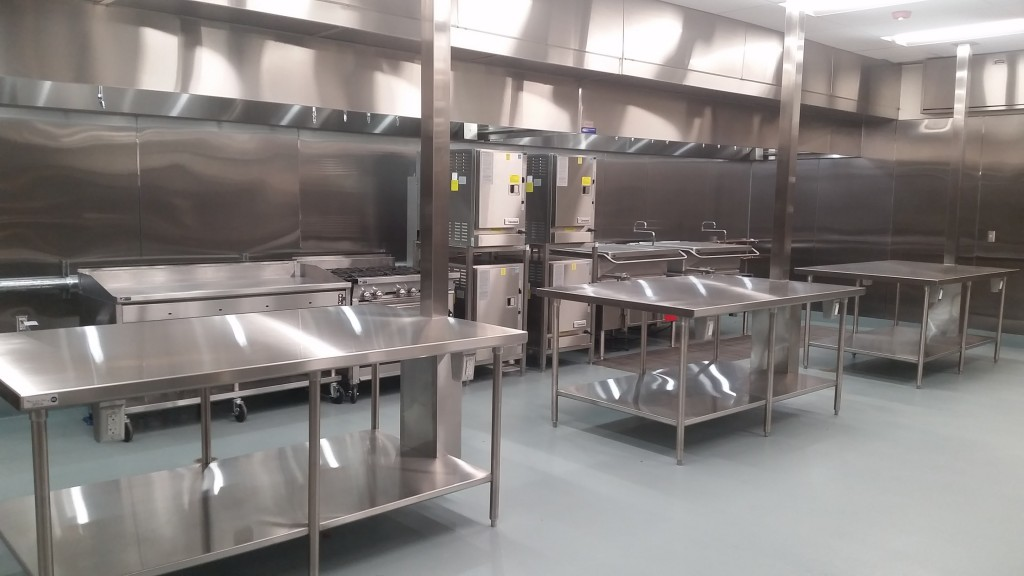 Commercial Kitchen Construction : Feeding the future kidango s new corporate kitchen