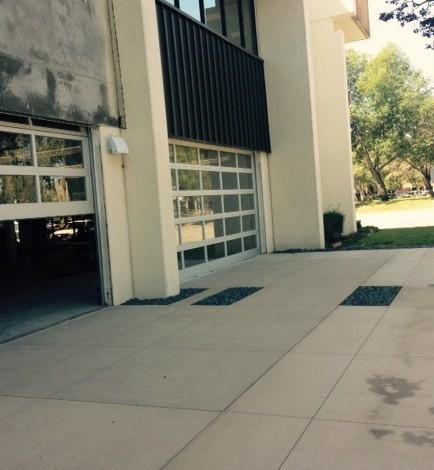 office building garage doors