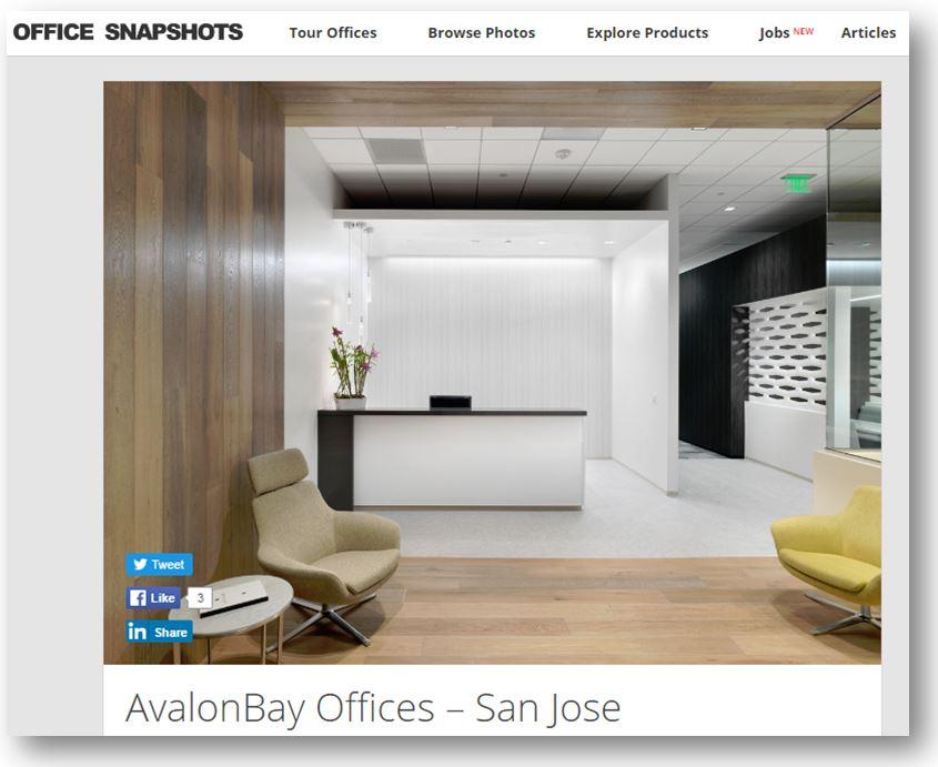 Avalon Bay office snapshots