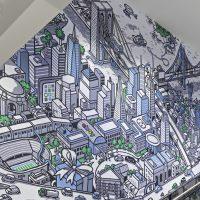 ebay mural by nigel sussman