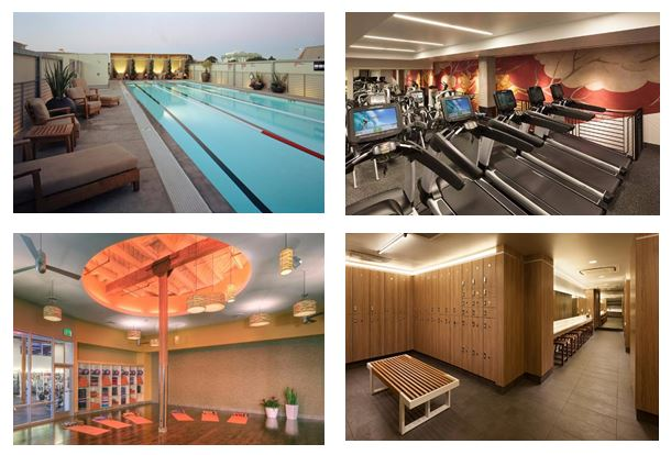 fitness club/gym construction projects