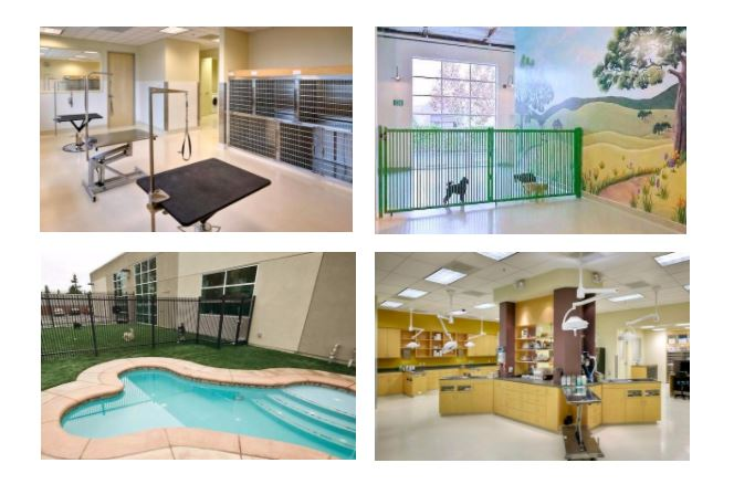 pet care and animal facility construction